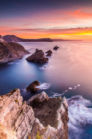 Jurassic Coast Mupe Bay Dawn Photograph by Tim Jackson