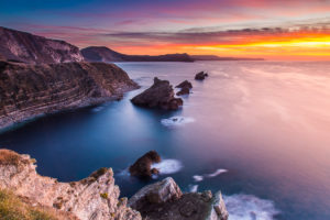 Jurassic Coast Mupe Bay Sunrise Photograph by Tim Jackson