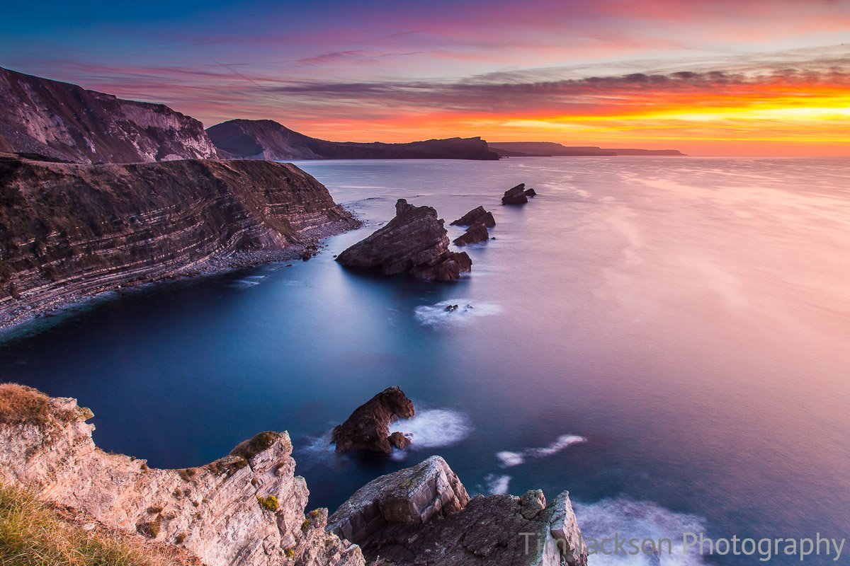 Mupe Bay Sunrise Photograph by Tim Jackson