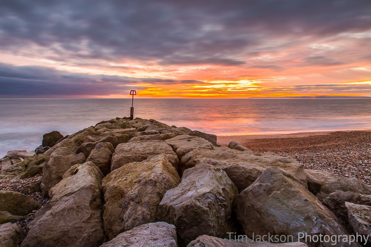Winter Solstice Hengistbury Head Photograph by Tim Jackson