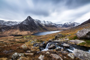 Landscape Photographer Tryfan Snowdonia Photograph by Tim Jackson