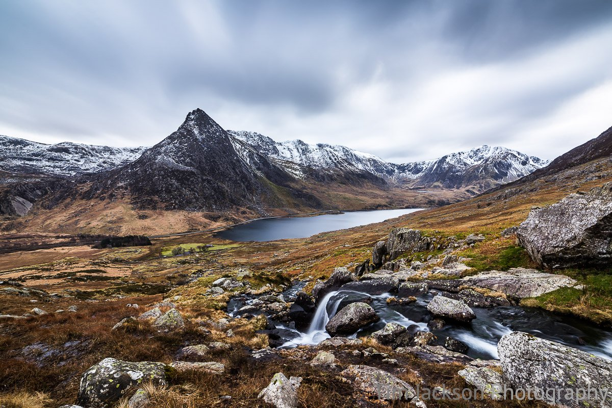 Tryfan Snowdonia Photograph by Tim Jackson