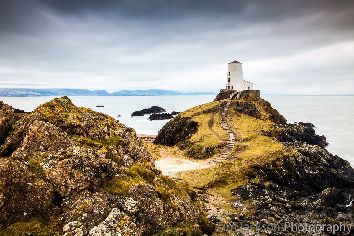 Twr Mawr Lighthouse Photograph by Tim Jackson