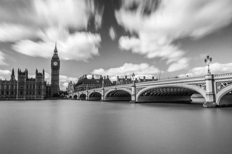 Westminster Bridge Daytime Black and White Westminster Bridge Daytime Black and White Photograph by Tim Jackson