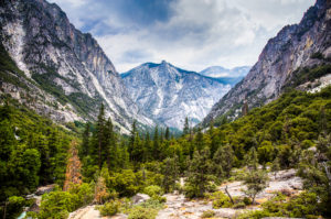 US West Coast Kings Canyon Photograph by Tim Jackson