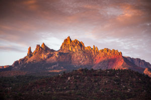 US West Coast Springdale Sunrise Photograph by Tim Jackson