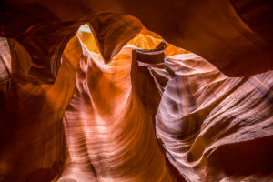 US West Coast Upper Antelope Canyon The Fist Photograph by Tim Jackson