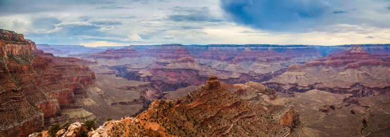Capturing the landscape in a panoramic. Grand Canyon Panorama Photograph by Tim Jackson