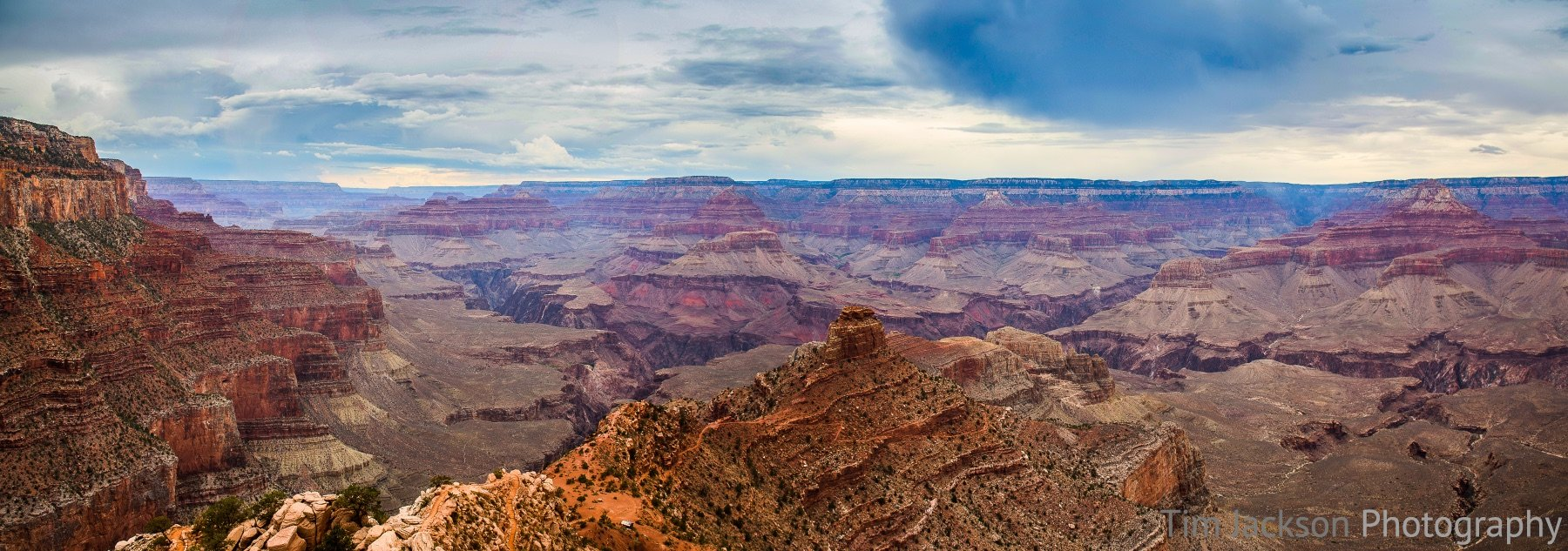 Grand Canyon Panorama Grand Canyon Panorama Photograph by Tim Jackson
