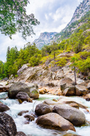 US West Coast South Fork Kings River Photograph by Tim Jackson