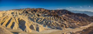 US West Coast Zabriskie Point Death Valley Panorama Photograph by Tim Jackson