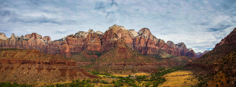 Zion National Park Panorama Zion National Park Panorama Photograph by Tim Jackson