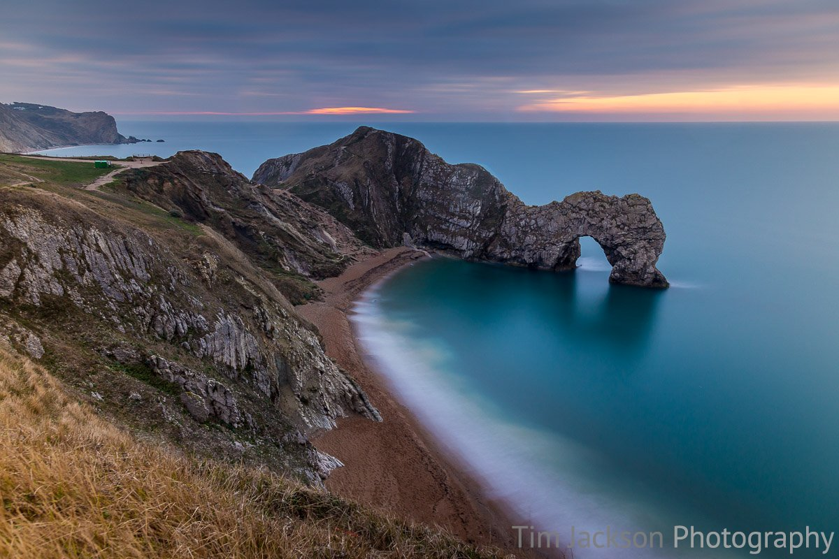 Durdle Door Dawn Photograph by Tim Jackson