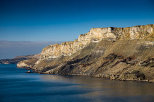 Jurassic Coast Brandy Bay Dorset Photograph by Tim Jackson