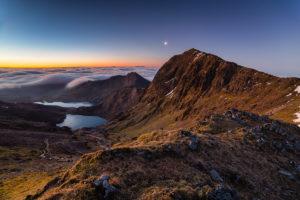 Snowdonia Snowdon Dawn Photograph by Tim Jackson