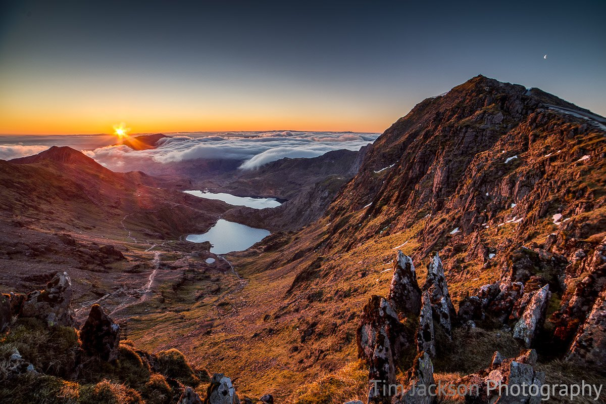 Snowdon Sunrise and Cloud Inversion