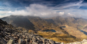 Latest Work View from Tryfan Photograph by Tim Jackson
