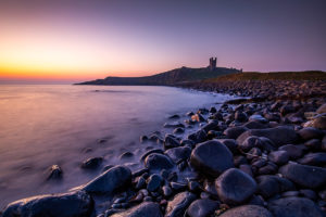 Sunrise at Dunstanburgh Castle