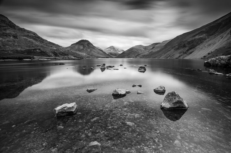 Wast Water Black and White