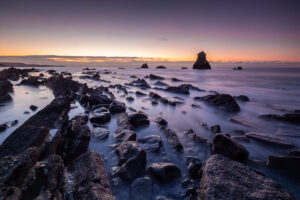 Mupe Bay Stack Sunrise