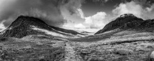 Ogwen Valley from Llyn Idwal